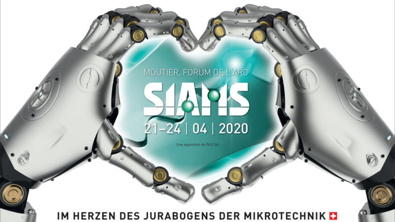 SIAMS 2020 in Moutier (11/2019)